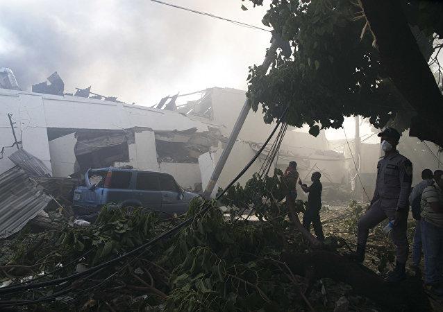 多米尼加瓦斯爆炸死亡人数升至6人 另100多人受伤
