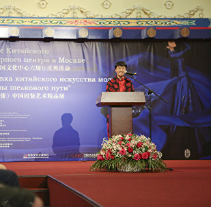 中國駐俄大使館文化參贊兼莫斯科中國文化中心主任 龔佳佳