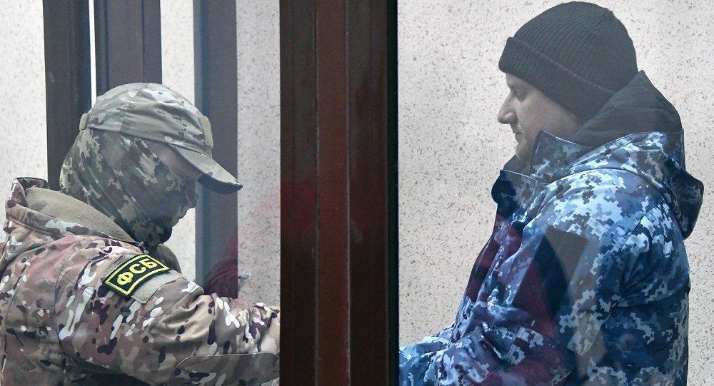俄聯邦安全委員會:被扣留的烏克蘭水手不是戰俘