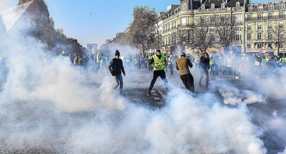 巴黎抗议活动