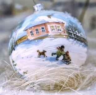 俄罗斯下诺夫哥罗德圣诞装饰品厂