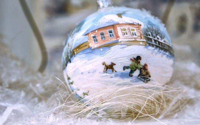 俄羅斯下諾夫哥羅德聖誕裝飾品廠