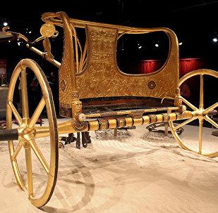 中國發現2500年歷史的豪華馬車