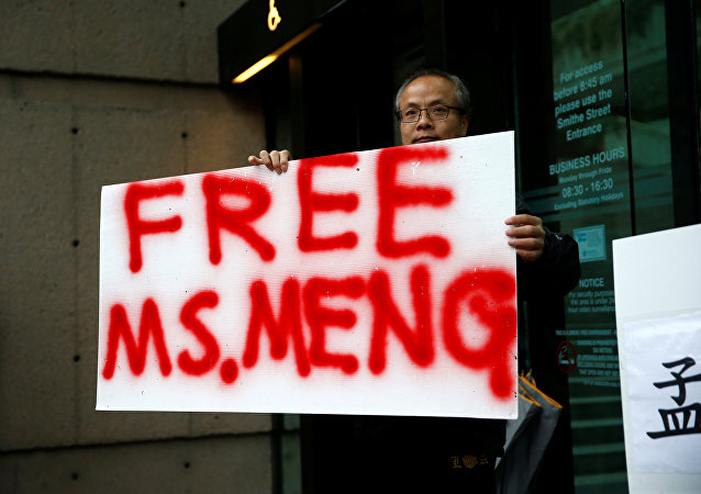 中方再次敦促美方撤銷對孟晚舟逮捕令和引渡請求