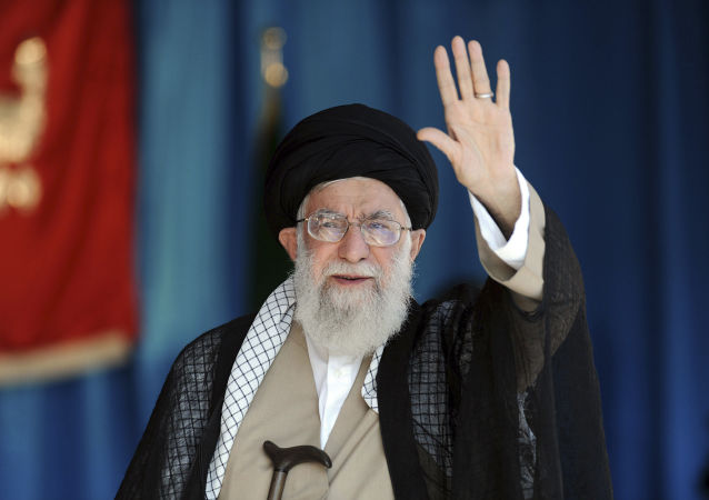 伊朗最高領導人大阿亞圖拉哈梅內伊