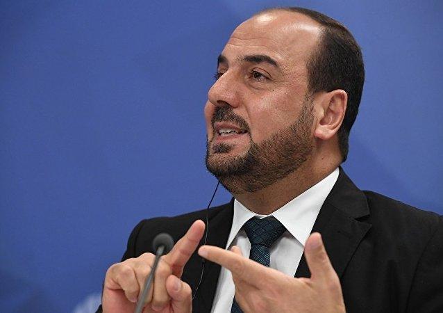 叙利亚谈判委员会主席纳斯尔·哈里里
