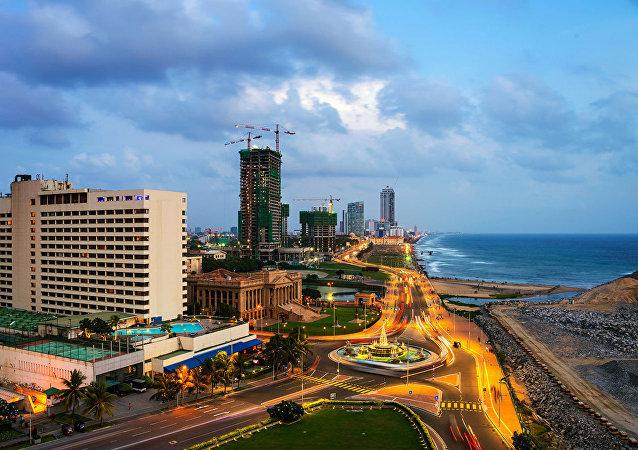 斯里兰卡首都科伦坡