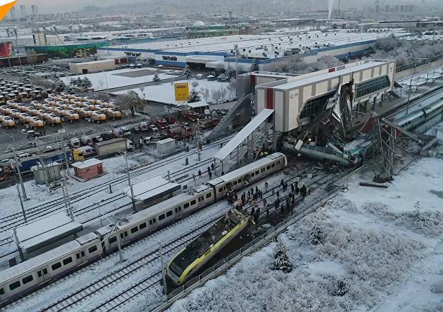 土耳其安卡拉火車事故造成9死46傷