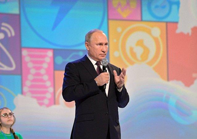 普京:在葉利欽提出有關總統的問題時自己當時沒想成為總統