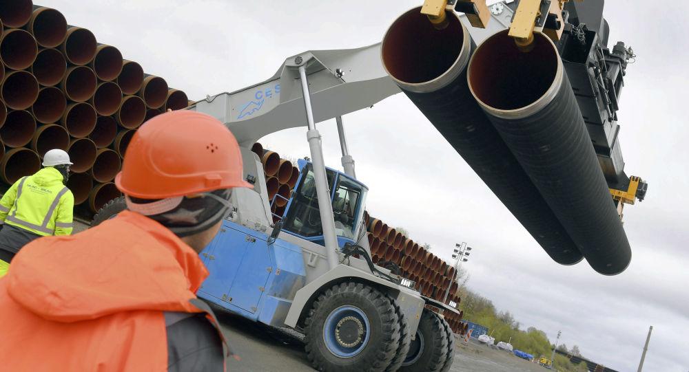 """德国能源公司:""""北溪-2""""项目投资额已超过60亿欧元"""