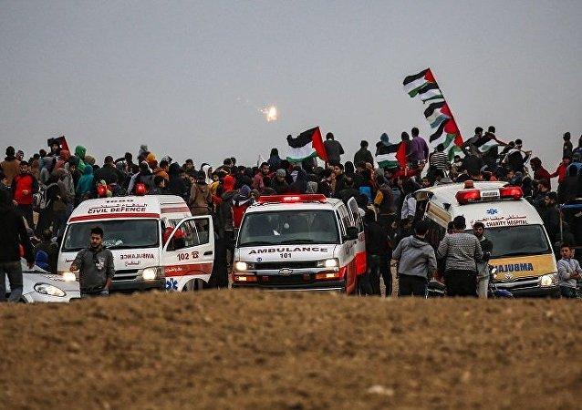 以军:约旦河西岸巴勒斯坦人驾车企图撞击以军