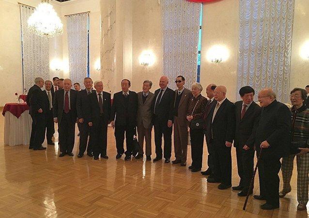 俄驻华使馆为纪念著名俄外交官、汉学家沃罗比约夫举行纪念晚会
