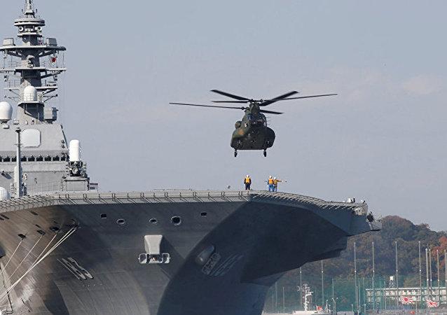 专家:轻型航母将助日本海军地位提升