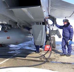 米格-31K攜帶高超音速導彈「匕首」