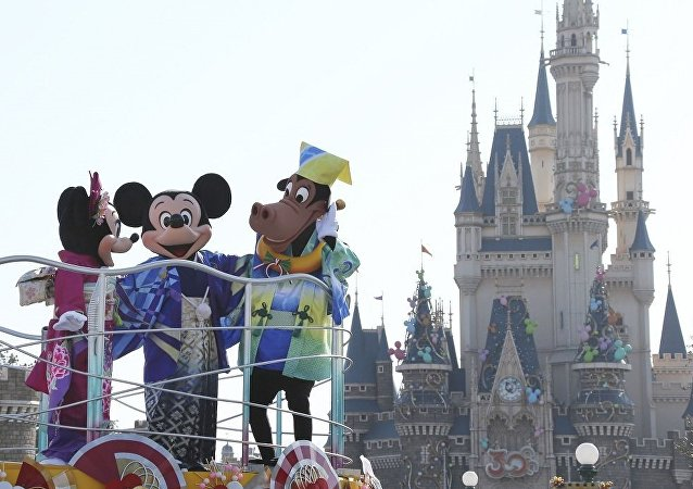 东京的迪士尼乐园