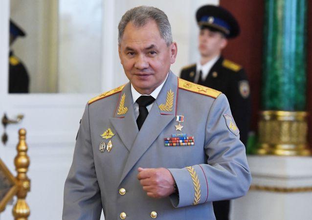 俄羅斯國防部長謝爾蓋•紹伊古
