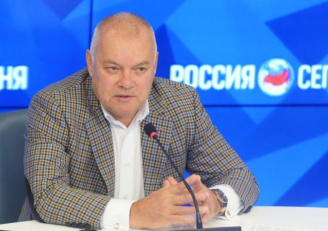 今日俄羅斯國際通訊社總經理基謝廖夫