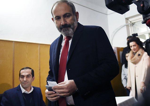 亚美尼亚代总理帕希尼扬