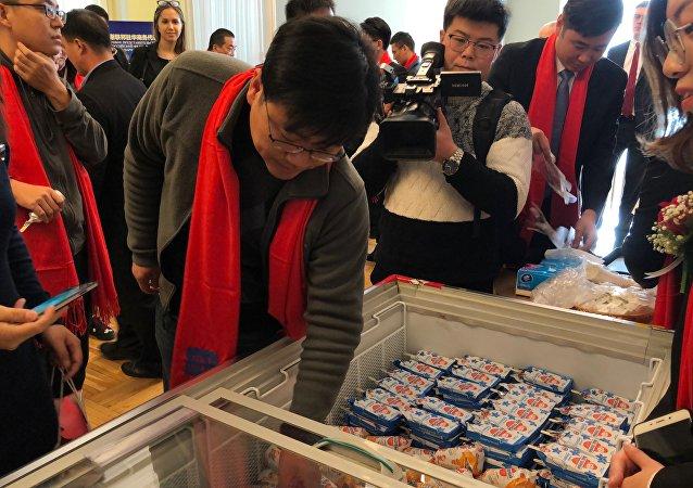 俄罗斯冰淇淋畅销中国