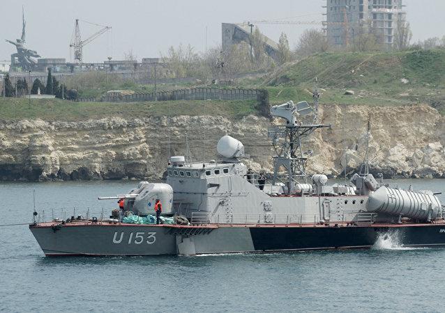 """乌克兰""""普里卢基""""号导弹舰"""