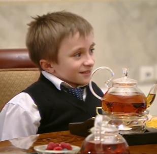 普京会见重病小男孩 圆其坐飞机俯瞰圣彼得堡之梦