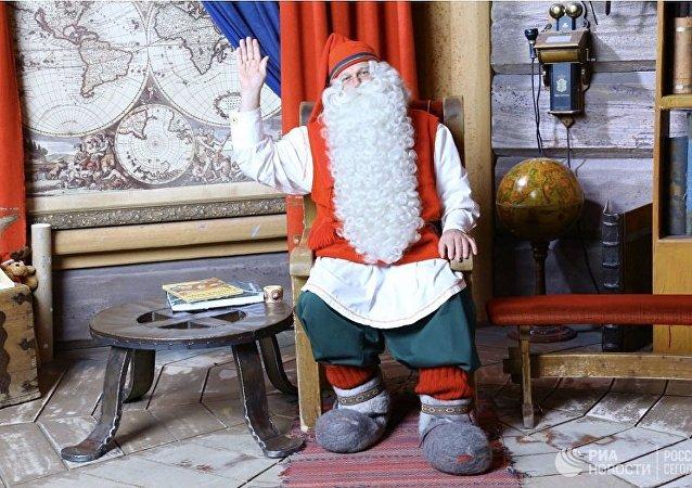 芬兰圣诞老人将向普京和特朗普赠送神秘礼物