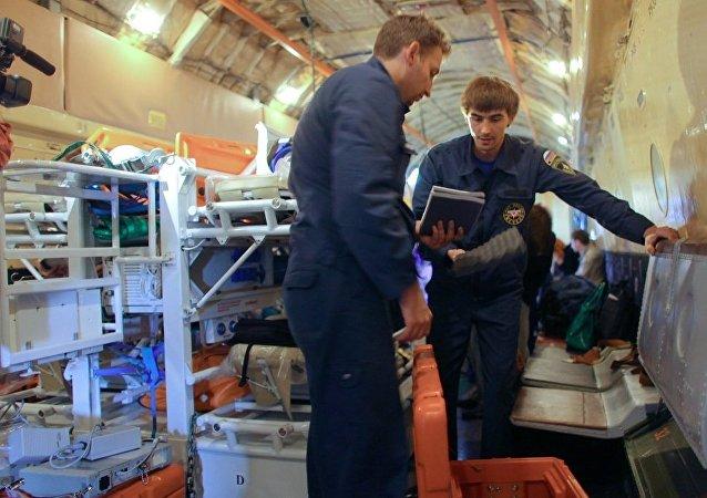 俄緊急情況部與聯合國合作的25年內為140個國家超過900萬人提供援助