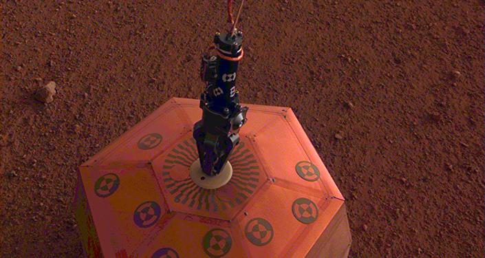 美国航天局的洞察号(InSight)火星探测器