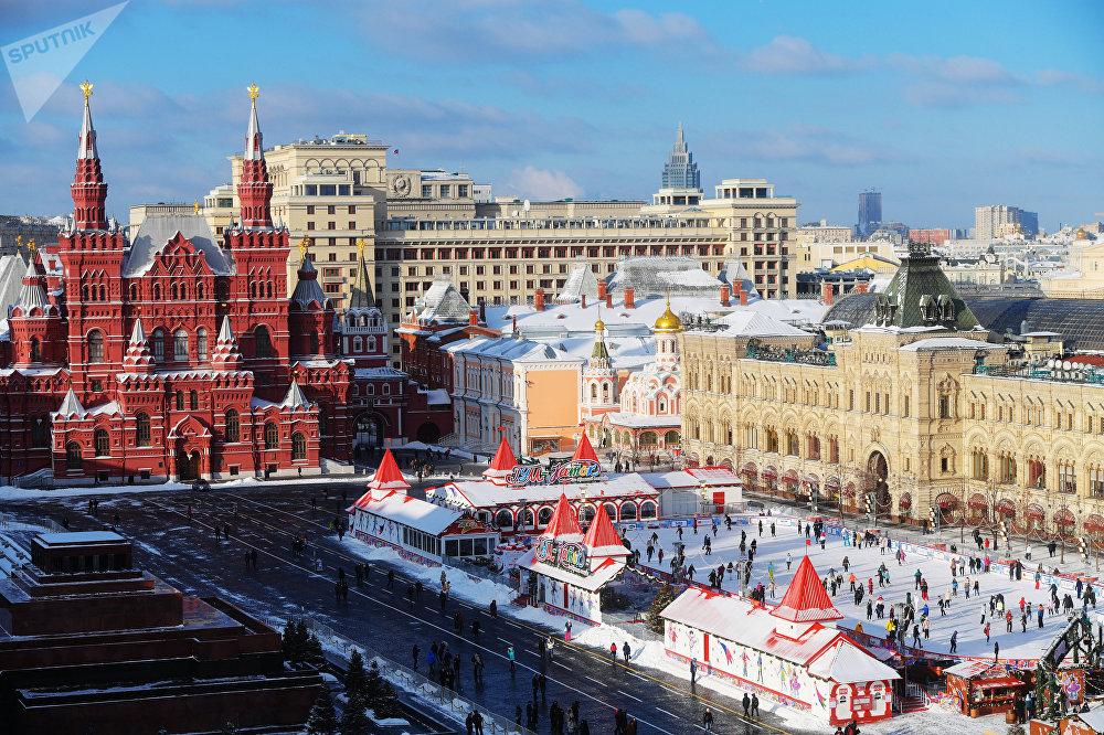 莫斯科历年梦幻新年装扮