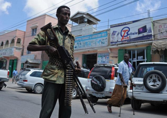 索马里武装巡逻人员