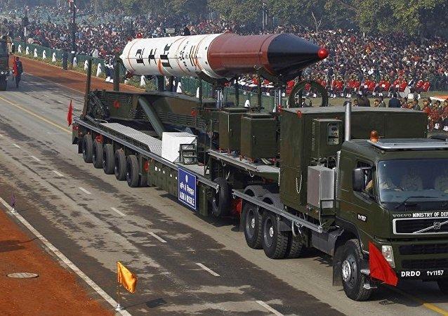 印度烈火-4彈道導彈