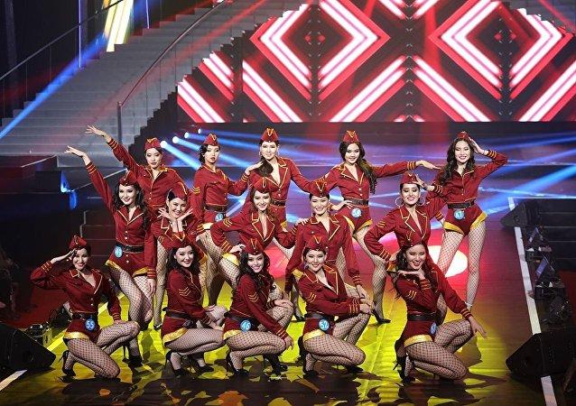 俄罗斯选手获中国满洲里第十五届中俄蒙美丽使者国际大赛季军