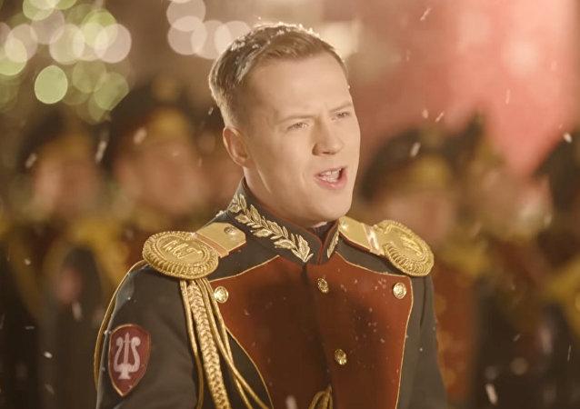 俄聯邦近衛軍模範歌舞團演繹《Last Christmas》