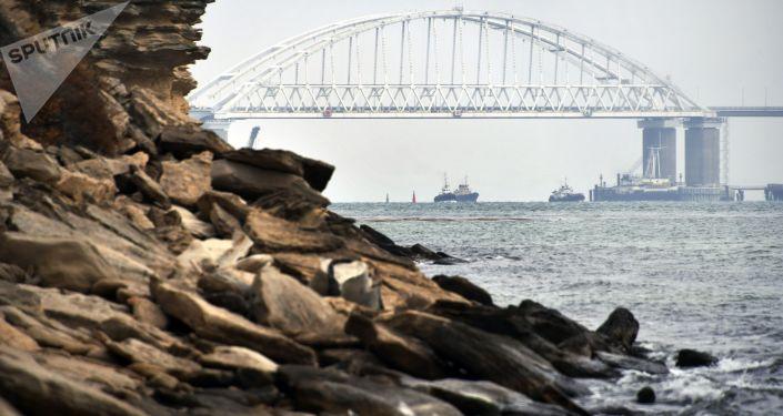克里米亚大桥铁路部分开通时间公布