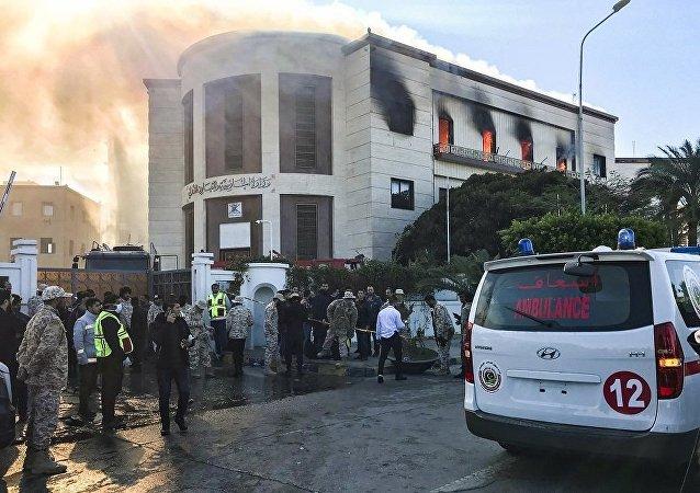 利比亞衛生部:利外交部大樓附近爆炸受傷人數超過20人