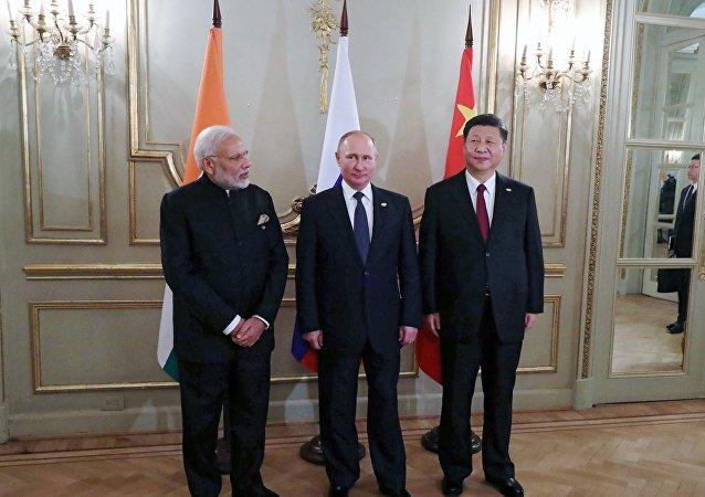 專家:中俄印峰會或改變國際關係架構