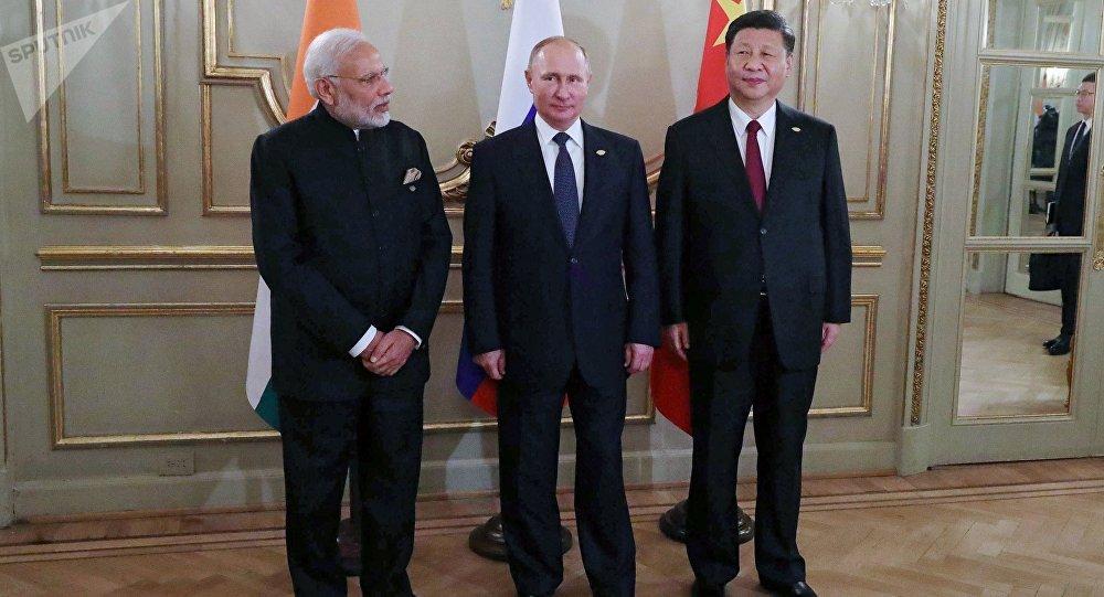 印度专家高度评价俄印中三边机制的作用