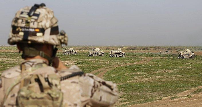 媒體:美國在伊拉克靠近敘利亞邊界處建立兩個軍事基地