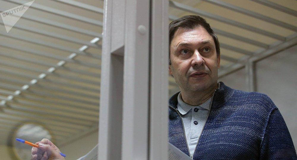 國際新聞工作者聯合會要求基輔立刻釋放「俄新社烏克蘭」網站負責人