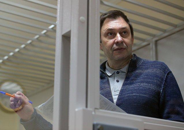 """""""俄新社乌克兰""""网站负责人基里尔∙维辛斯基"""