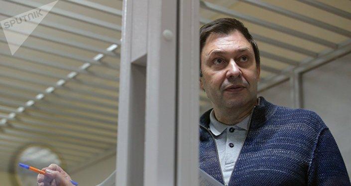 """国际新闻工作者联合会要求基辅立刻释放""""俄新社乌克兰""""网站负责人"""