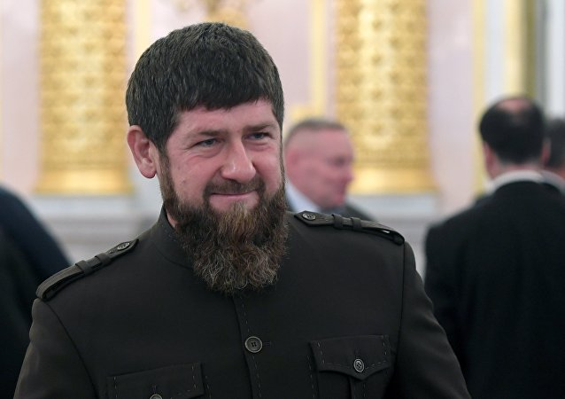 俄羅斯車臣領導人拉姆贊·卡德羅夫