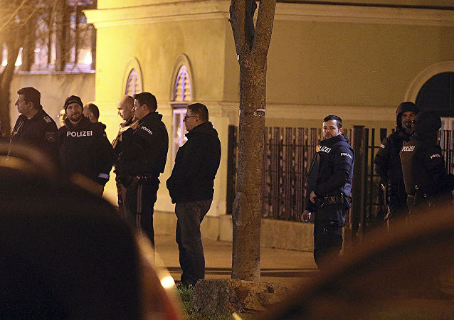 維也納警方在排查遇襲教堂時沒有發現任何可疑之人