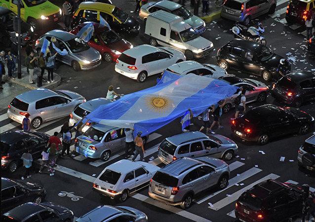 Митинги в Аргентине.
