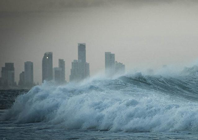 印度尼西亞沿岸宣佈有海嘯威脅