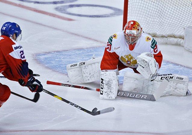 U20冰球世錦賽俄羅斯戰勝捷克