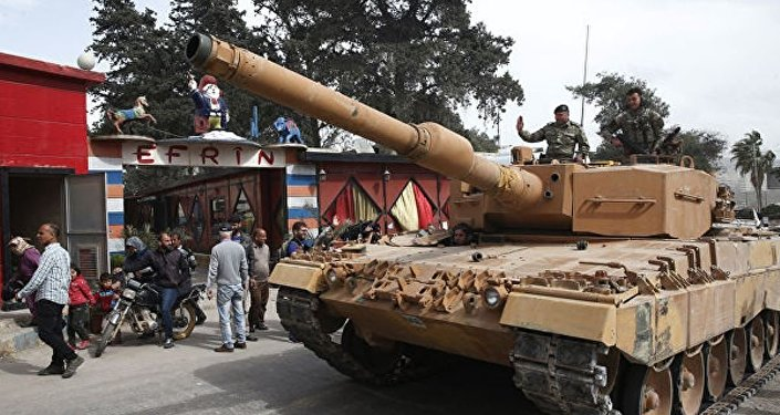 土耳其繼續向土敘邊境增派坦克和火炮