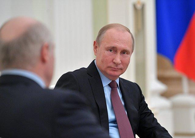俄白总统讨论欧亚经济联盟一体化进程问题
