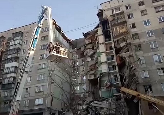 俄緊急情況部:馬格尼托哥爾斯克發生燃氣爆炸居民樓的牆體將被拆除