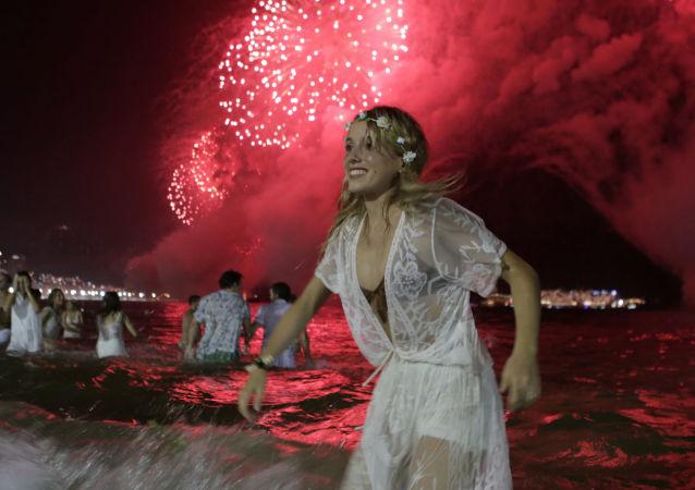 里约热内卢庆祝新年